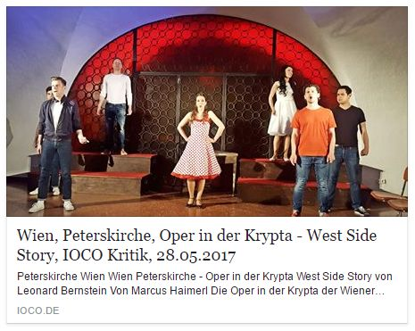 IOCO Kritik Oper in der KRYPTA - West SIde Story