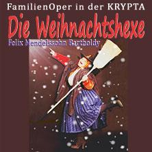 DIE WEIHNACHTSHEXE -   Felix Mendelssohn Bartholdy - KinderOPER in der KRYPTA