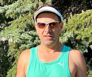 Frank Garnich aus Schermen absolvierte seinen Marathon in 3:34:22 Stunden.