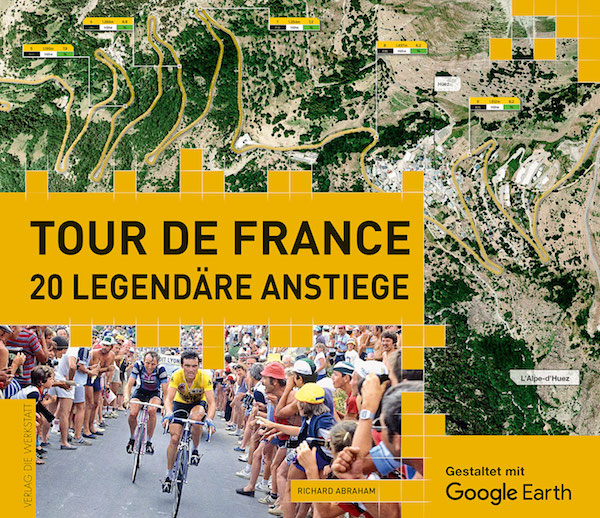 Richard Abraham: Tour de France. 20 legendäre Anstiege, 224 Seiten, Hardcover, Verlag Die Werkstatt, 34,90 Euro, ISBN 978-3-7307-0259-8.