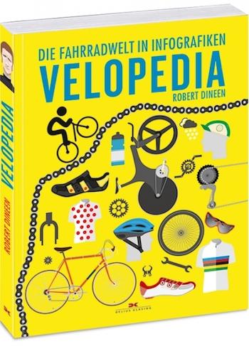 Robert Dineen: Velopedia. Die Fahrradwelt in Infografiken. 192 Seiten, 19,90 Euro, Delius Klasing 2017, ISBN 978-3-667-11013-8