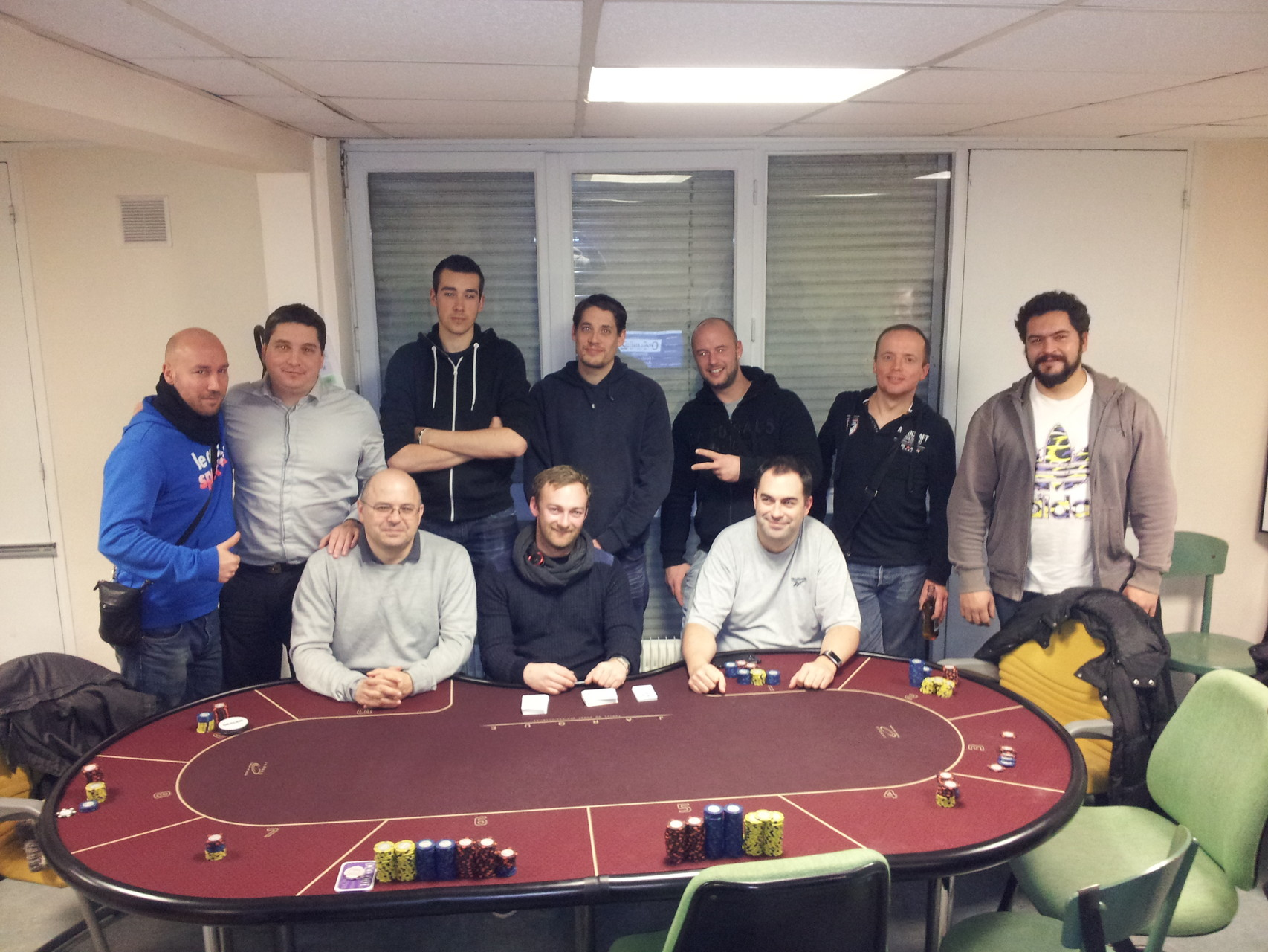 MTT05 20151204 --- Winner Payou --- Runner-Up Beubeu --- Podium Chetemi59