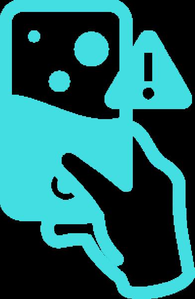 Handy Wasserschaden, Logo