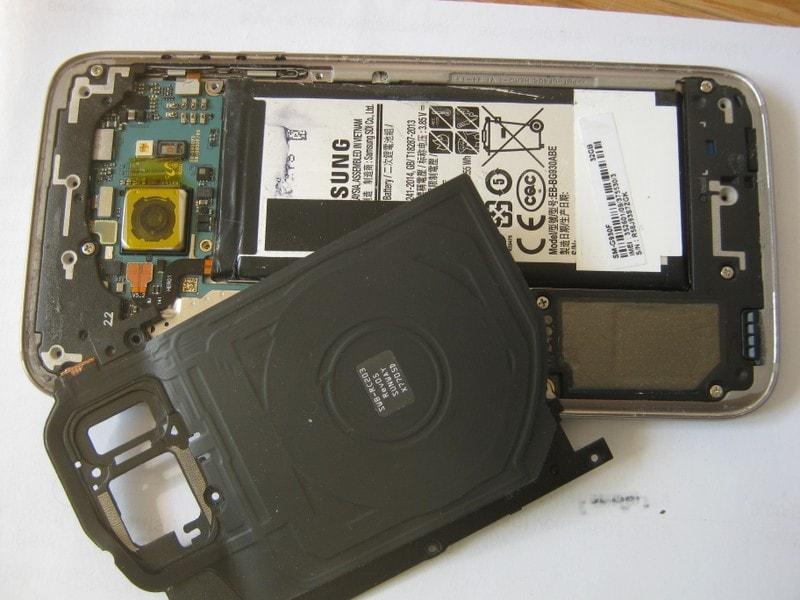 Handy Reparatur Berlin, Display Reparatur, Samsung S7, qi kompatibel