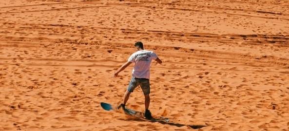 Swakopmund Reisebericht Sandboarding und Quadbiking in der Namib Wüste