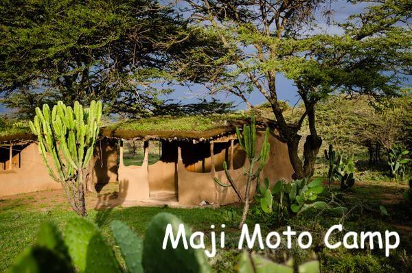 Kenia Lodges Maji Moto Camp