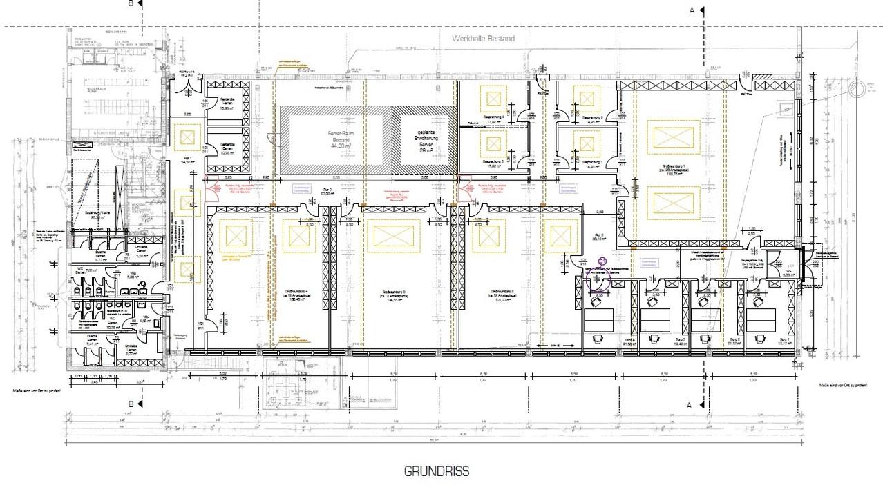 Großraumbüros in Floß - Umbau u. Nutzungsänderung - 2012