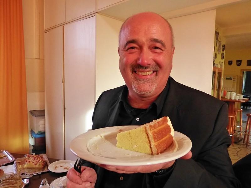 Leckerer Kuchen erfreut unsere Mitglieder