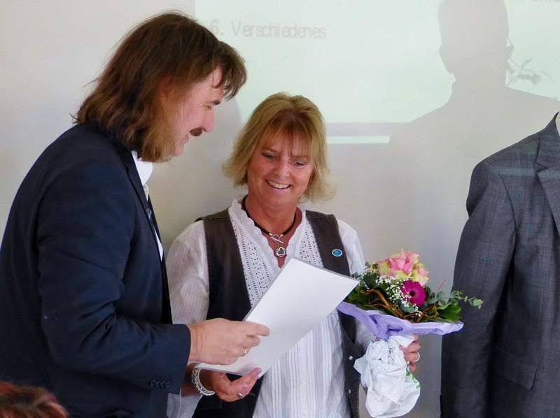 Ehrung Ilona Jädtke