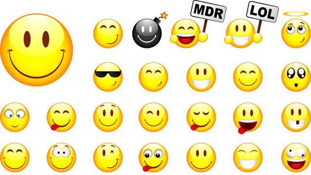 Le dictionnaire des smileys site de lemondedessmileys - Image smiley gratuit ...