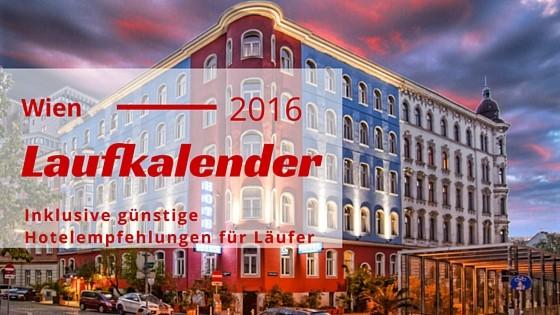 Laufkalender Wien 2016 - VCM Booking Vienna empfiehlt das günstige Hotel Urania Sportler Frühstück