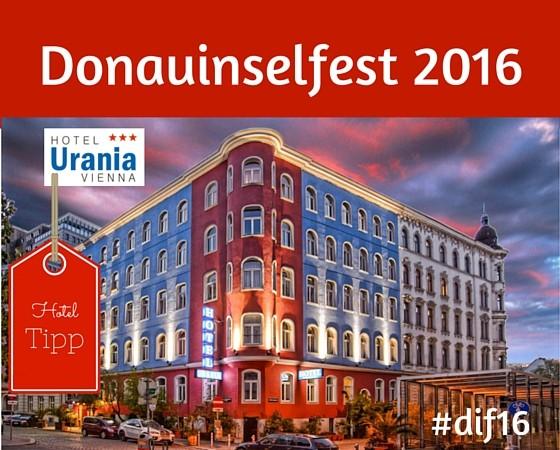 Das größte Open-Air Festival Europas ACDC - Donauinselfest 2016 Besucher Günstig Hotel buchen, Empfehlung Hotel Urania, gute Bewertung