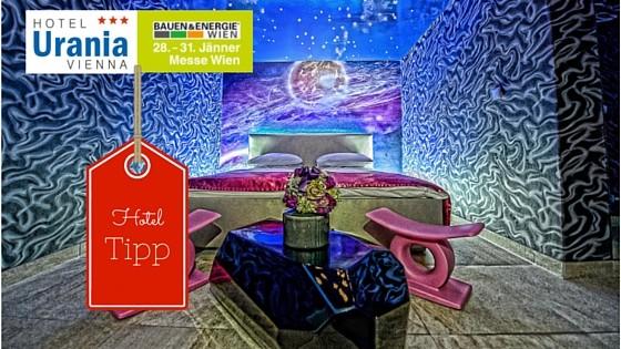 Bauen und Energie Messe Wien 2016 - Booking Vienna empfiehlt das Hotel Urania