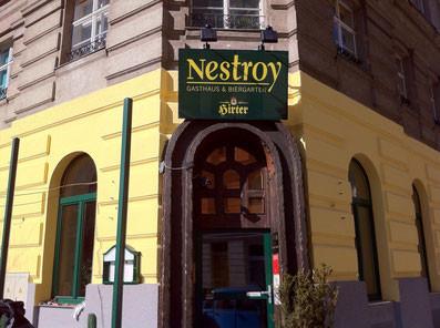 Booking Vienna Empfehlung: Gasthaus Nestroy 1020 und das Hotel Vienna in Wien Prater liegt günstig in der Nähe zur Messe, buchen günstige Hotels in Wien
