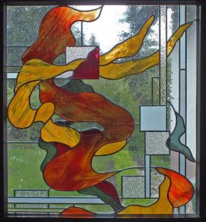 Bleiverglasung im Isolierglas