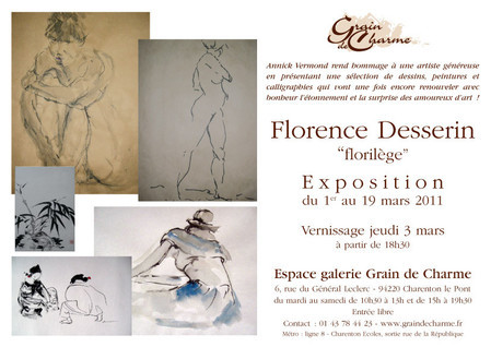 invitation Florilège