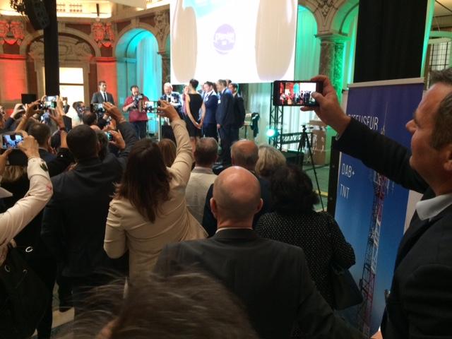 Moment du lancement officiel