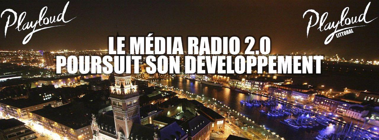 Playloud rejoint la plateforme Radioplayer France et démarre en DAB+ à Dunkerque