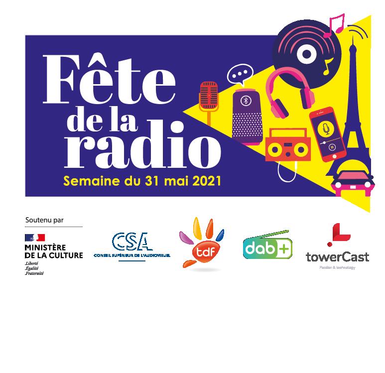 Rendez-vous la semaine du 31 mai 2021 pour la Fête de la Radio, les 100 ans de la radio se fête partout en France