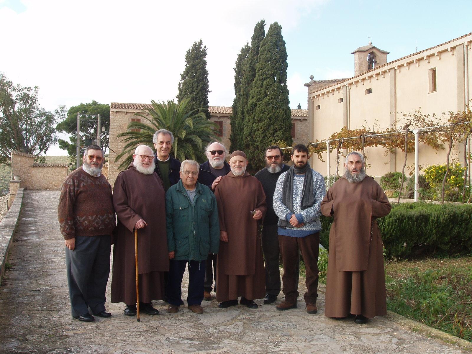 Visita des Ermitants de la Comunitat de Valldemossa. Any 2014