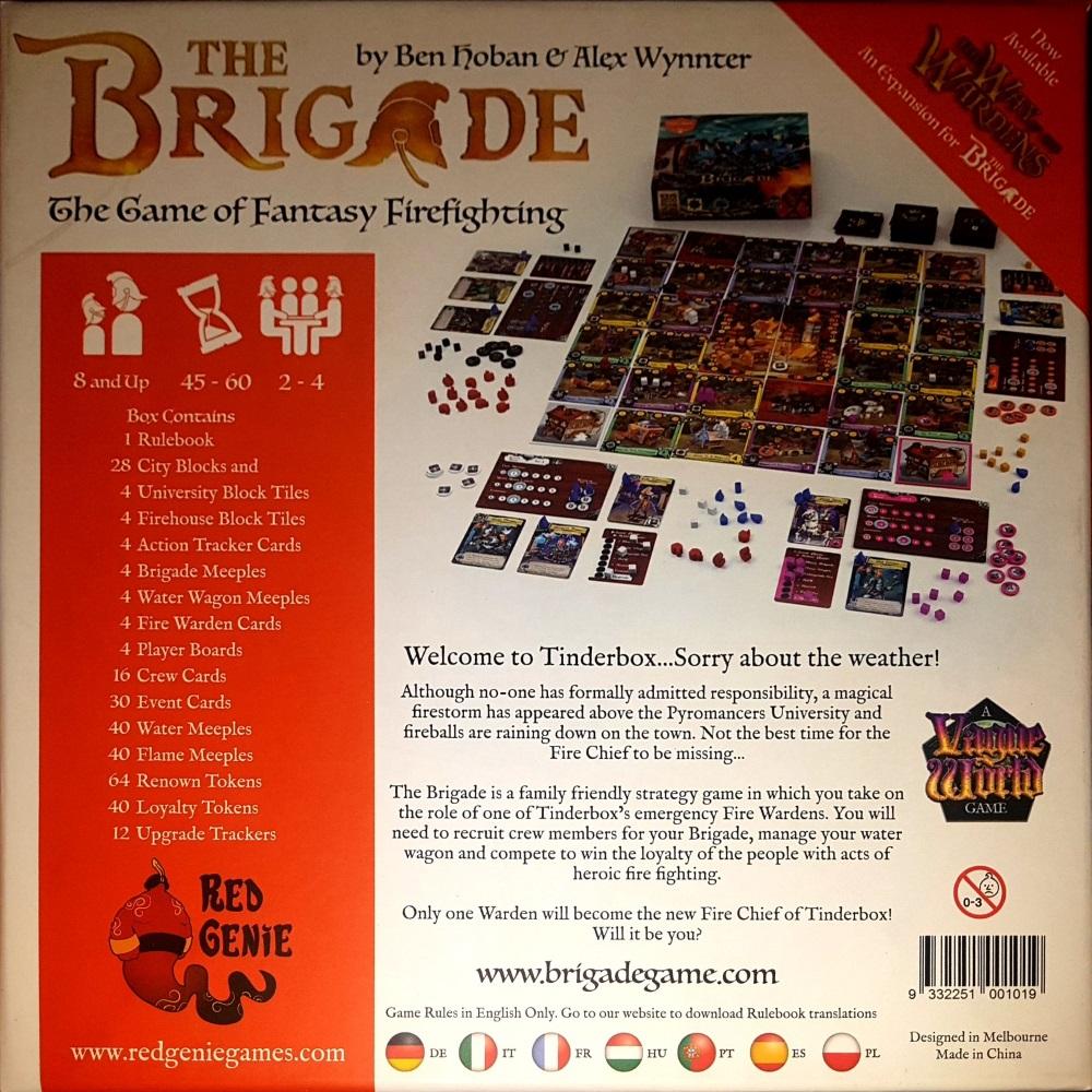 The Brigade Rückseite