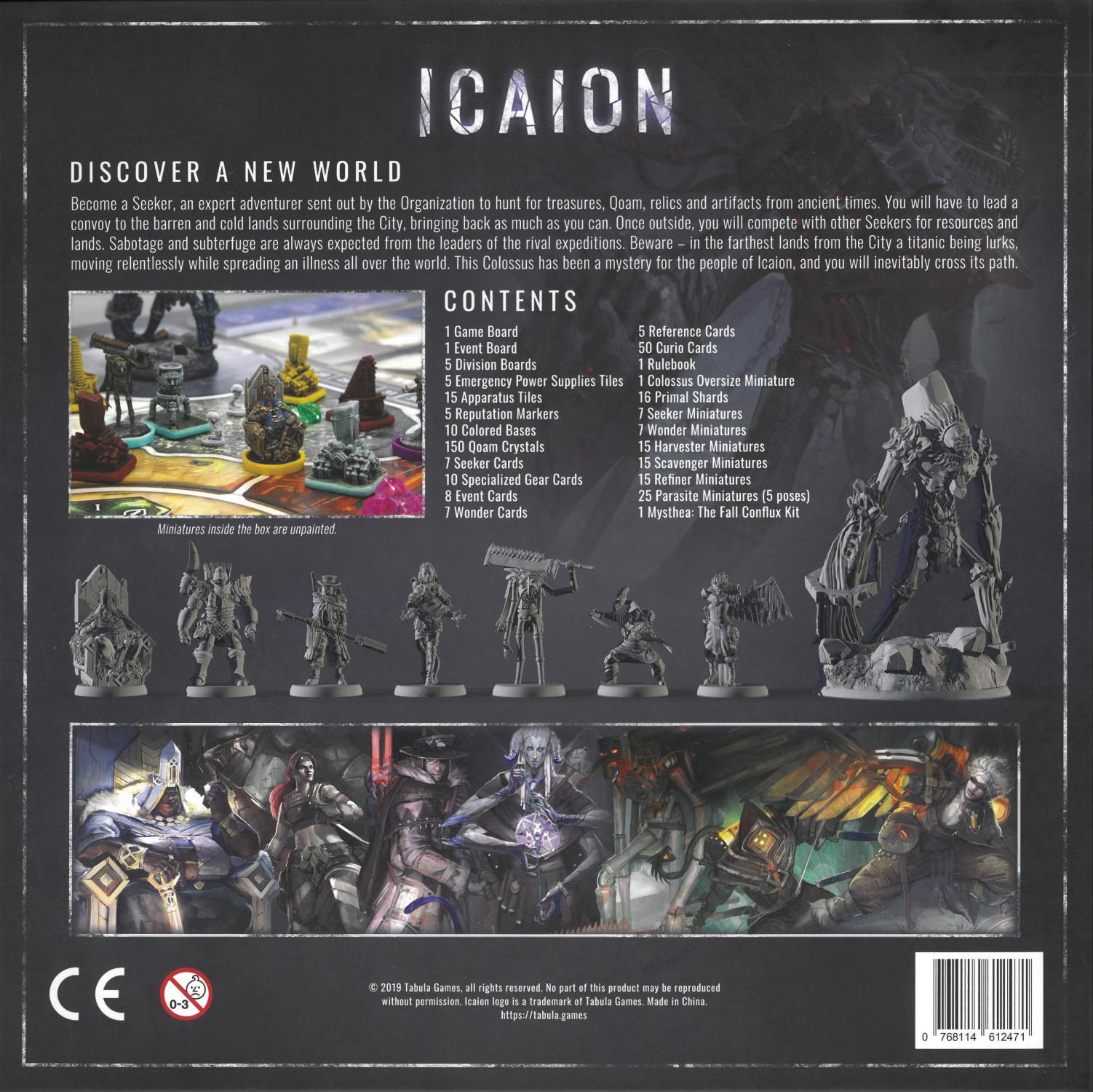Icaion Rückseite