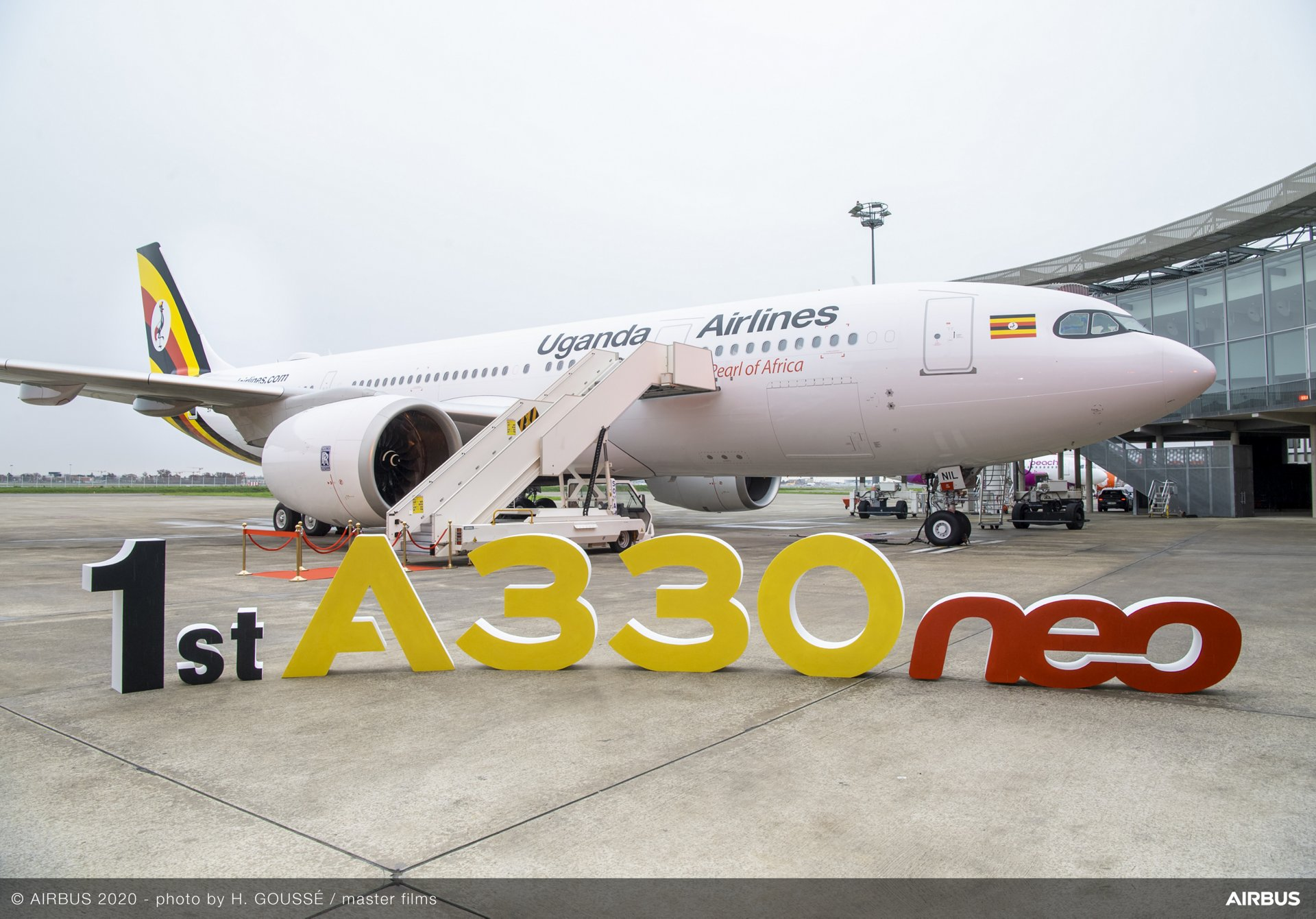Uganda Airlines flies further with its brand-new A330neo