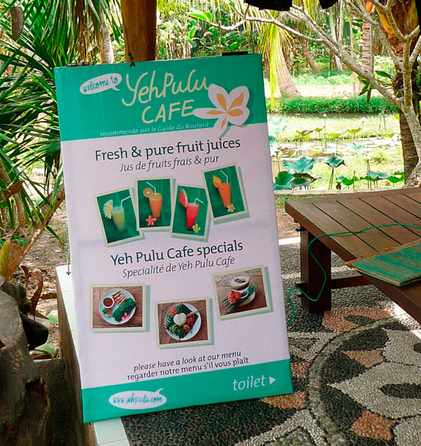 welcome to Yeh Pulu Cafe!
