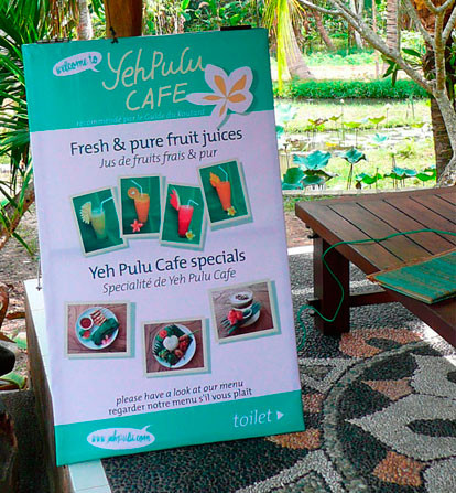 Yeh Pulu Cafe Bedulu Gianyar Bali
