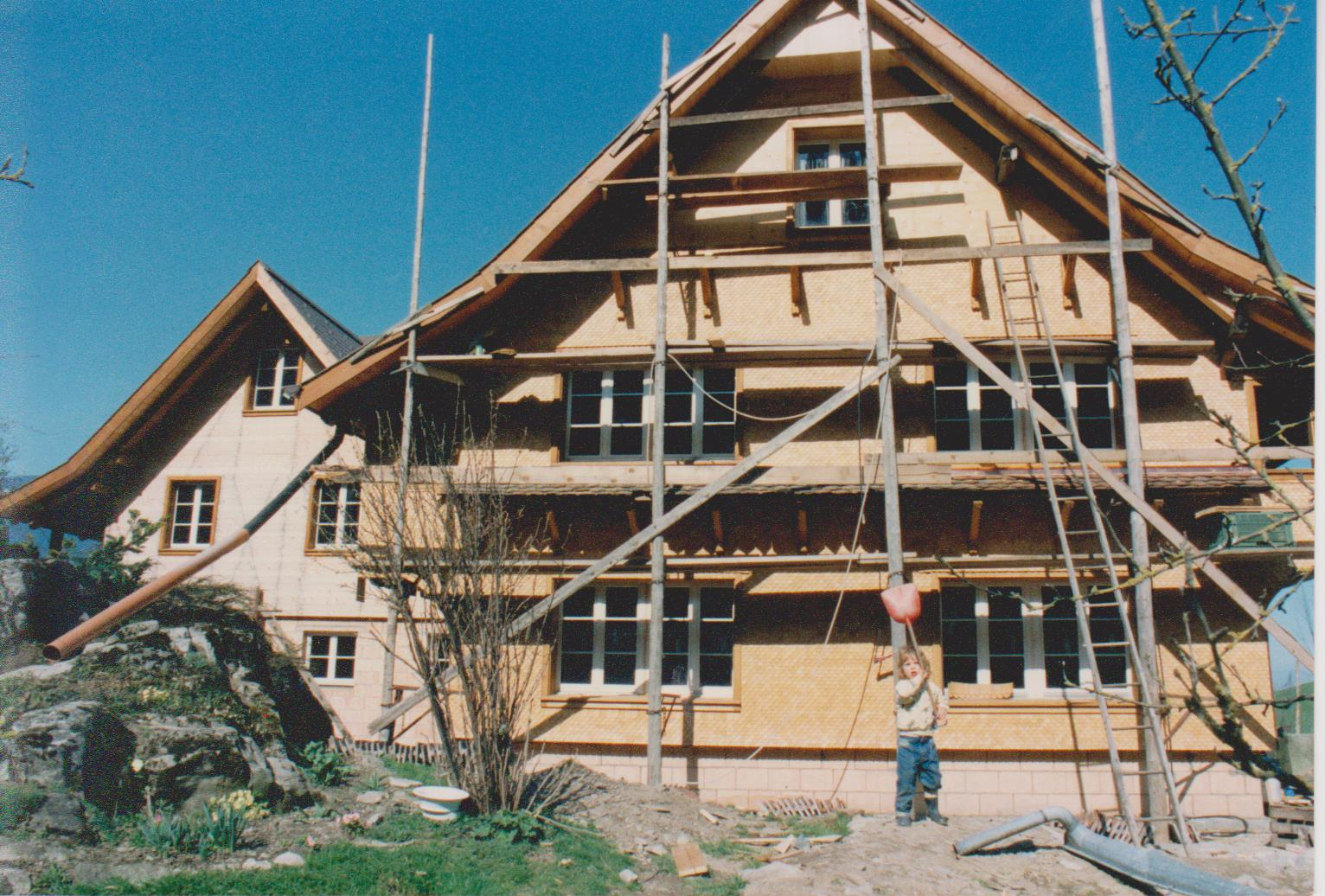 Umbau Wohnhaus 1994 inkl. Bauleiterin