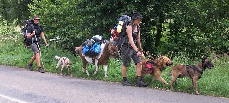 Pack und Pony nach Frankreich
