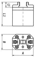 Technische Zeichnung Stangengreifer 2