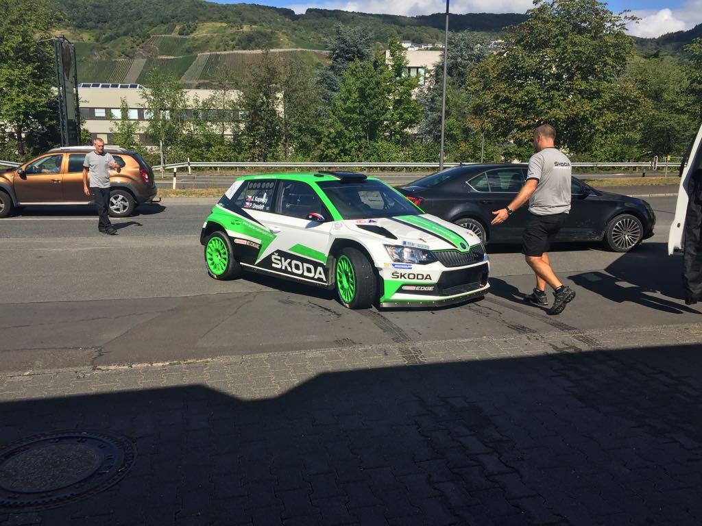 be-washed Waschstrasse Bernkastel-Kues, Rallye Deutschland
