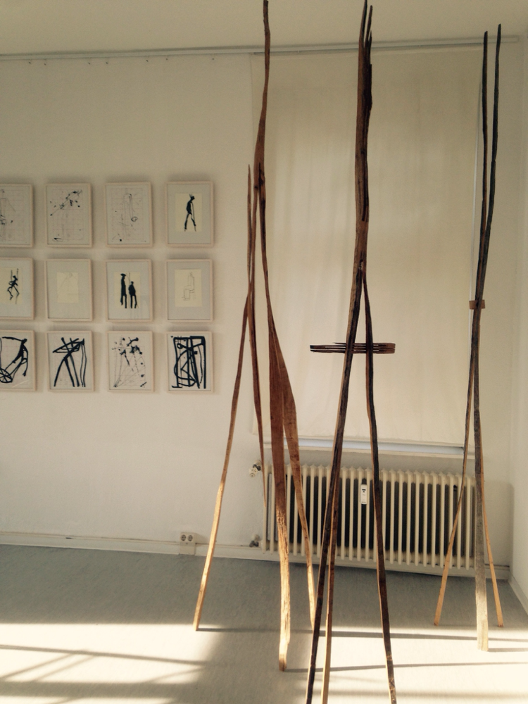 Zeichen und Zeichnungen in Ribnitz
