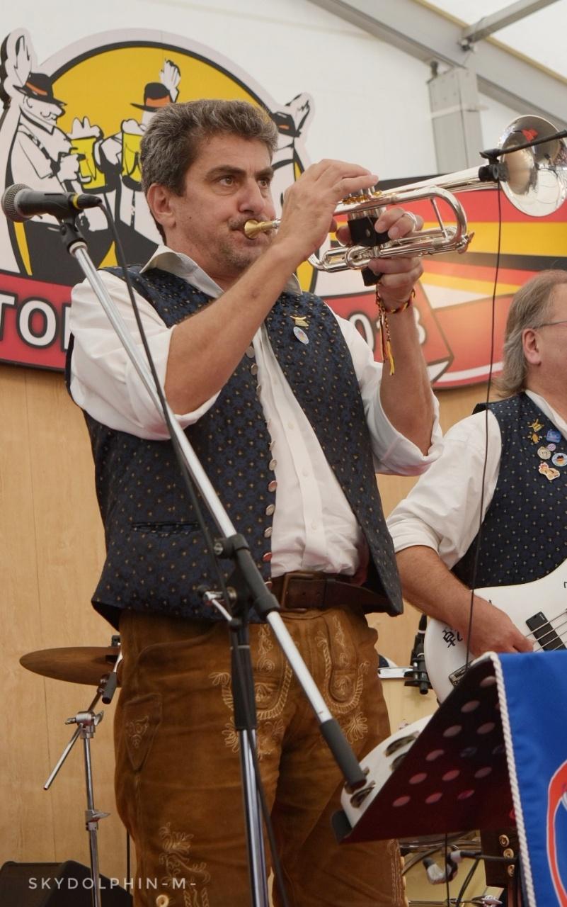 Diekirchdorfer member  -Walter- 可愛いトランペットがよく似合います
