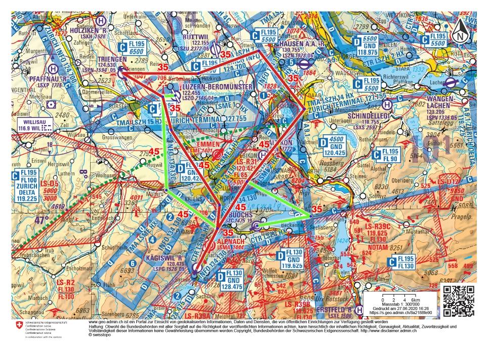 Erster Navigationsflug geplant