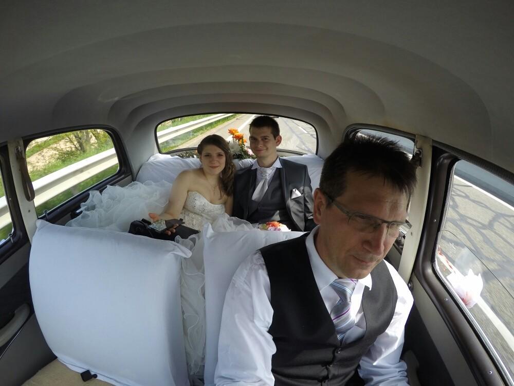 Ruhezone für das Brautpaar