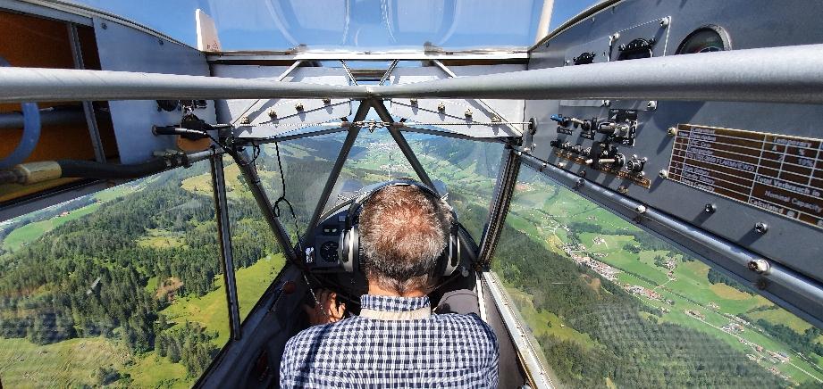Aus der Sicht des Flugschülers