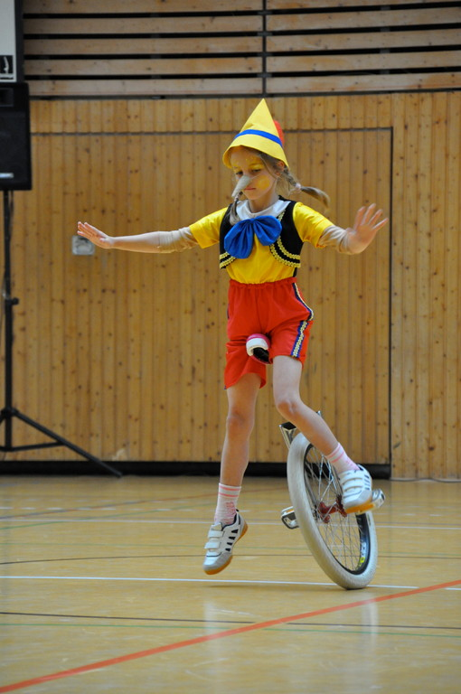 Tamia beim Tip-Spin