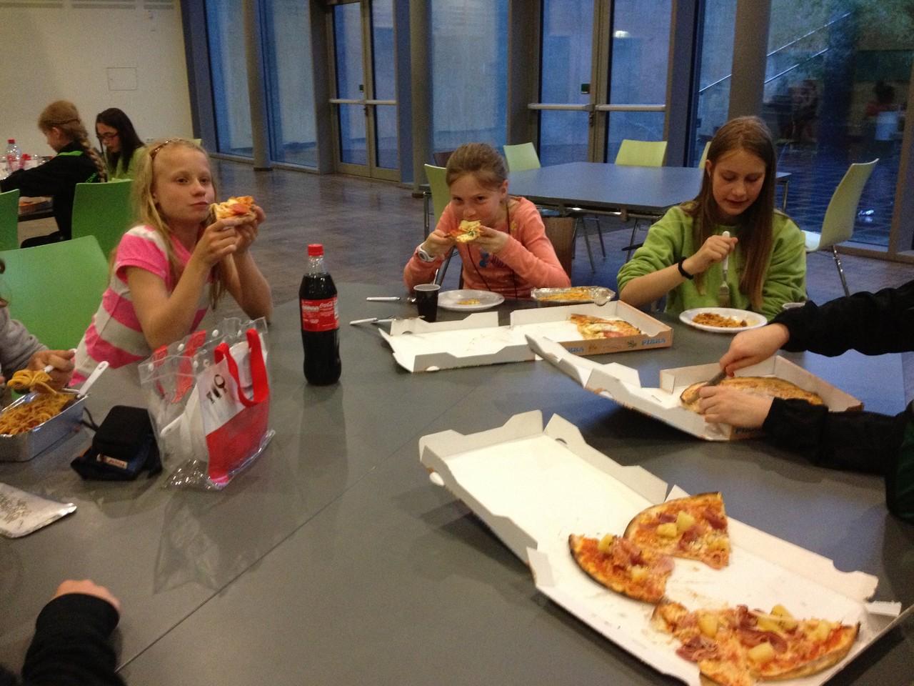 Abendbrot in der Schule