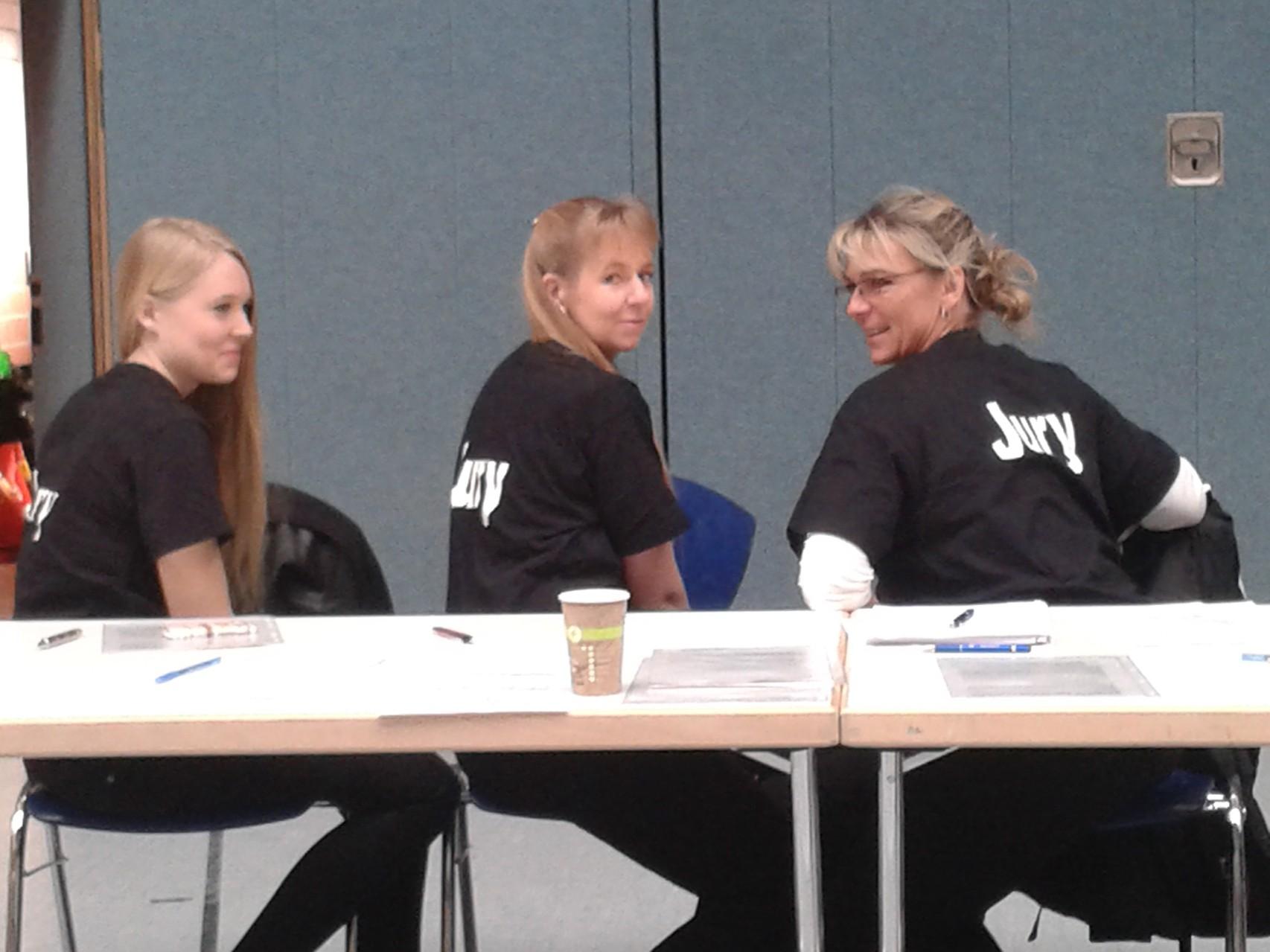 Einige Jury-Mitglieder