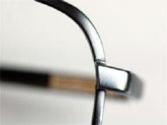 メガネフレームのレーザー溶接修理画像