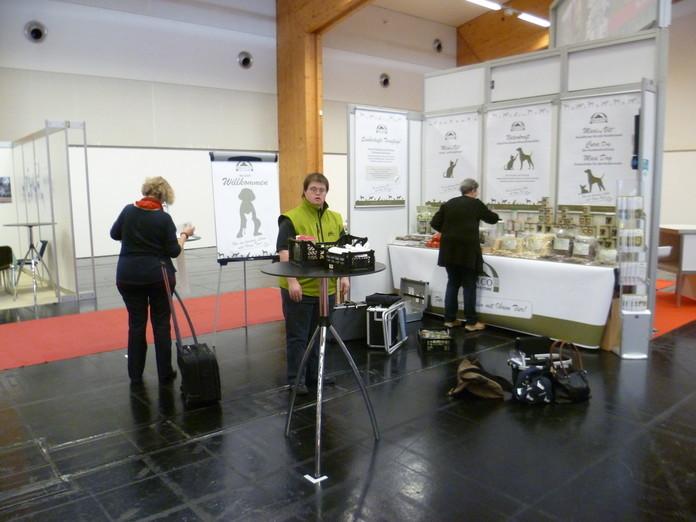 Heimtiermesse Innsbruck: Hannelore Abbenhaus, Buxtehude - Oliver Sievers - Brigitte Grill, Salzburg