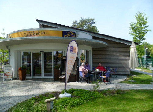 Oliver Sievers im Café Kiek in Tostedt