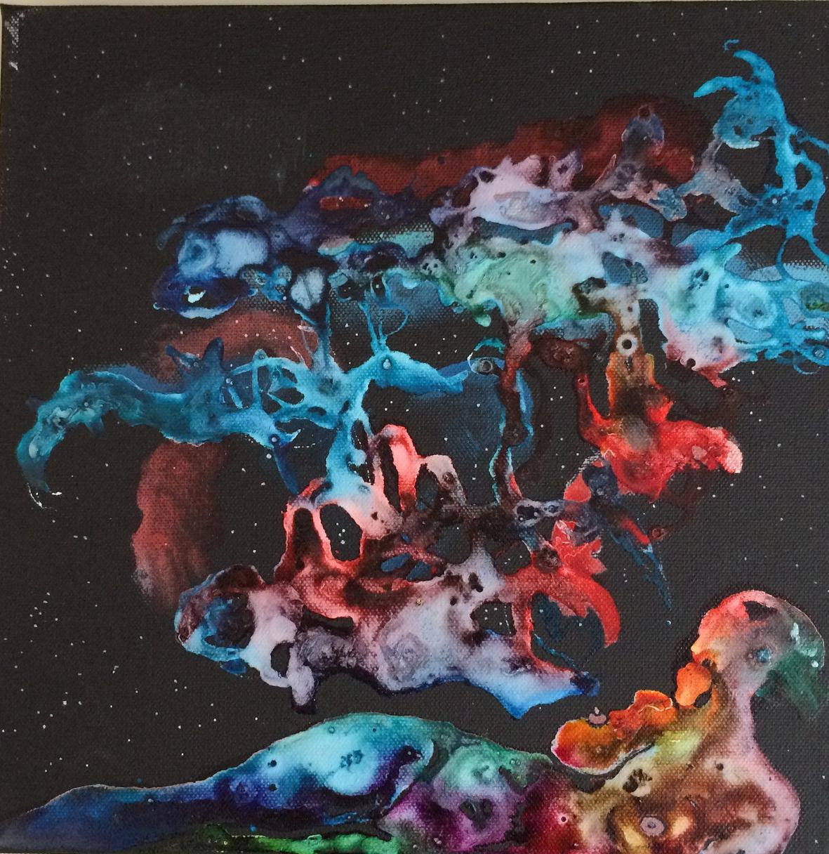 Les dentelles du Cigne dansent devant notre si belle Voie Lactée. Appartient à Agnès John