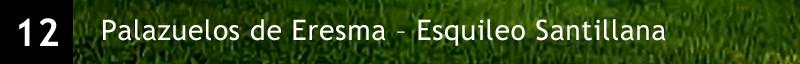 Palazuelos de Eresma – Esquileo Santillana