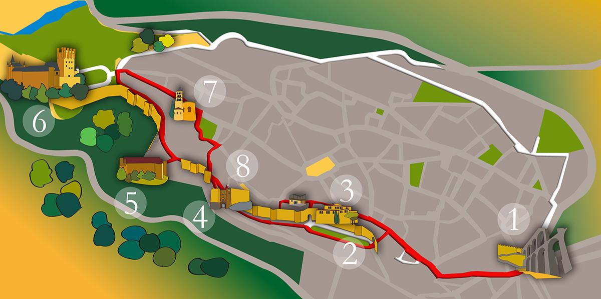 """Visita guiada """"Judería y muralla de Segovia"""""""