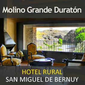 Molino Grande del Duratón. Hotel rural en San Miguel de Bernuy