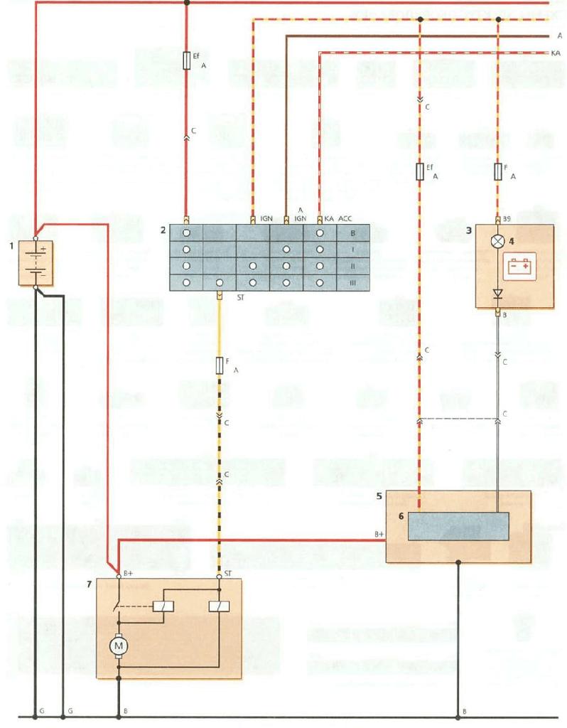 Daewoo Start Wiring Diagram - All Diagram Schematics on