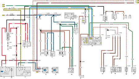 FORD Sierra Wiring Diagrams - Car Electrical Wiring Diagram | Ford Sierra Wiring Diagram |  | Car Electrical Wiring Diagram - Jimdo